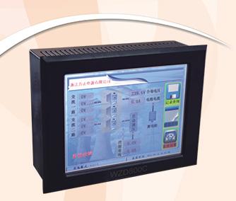 WZD600C~1200C系列微机触摸屏监控系统