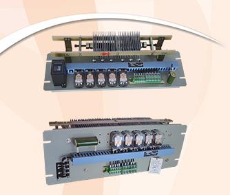 硅链自动调压装置用于手动或自动调节直流屏(柜)的控制母线电压。本调节器配有自动控制电路,大电流直流继电器和分组降压硅链,调节迅速,工作稳定,安装方便。